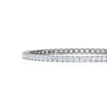 Radiance Solitaire Bangle