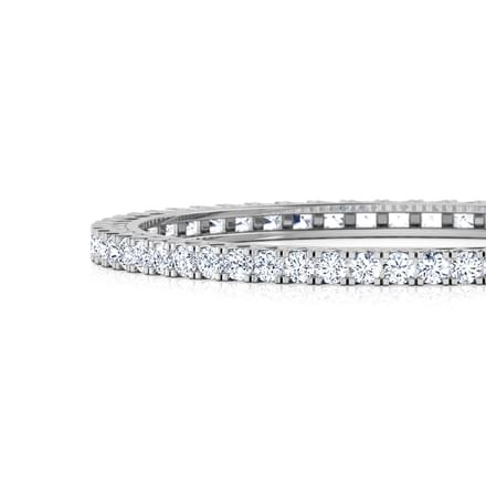 Glimmer Solitaire Bangle