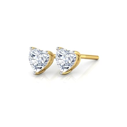 Heartthrob Solitaire Studs