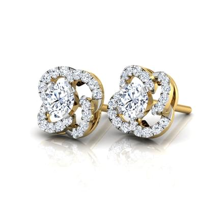Lara Clover Stud Earrings