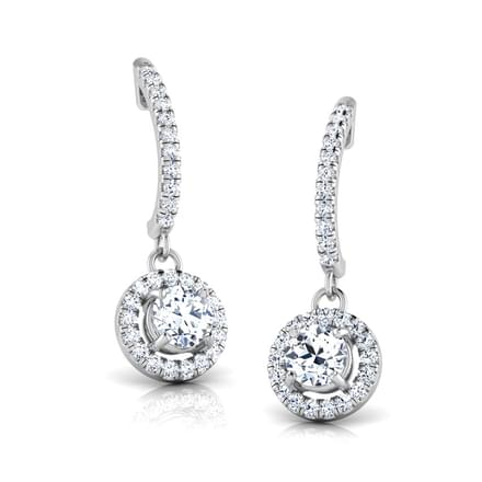 Debbie Bling Solitaire Drop Earrings