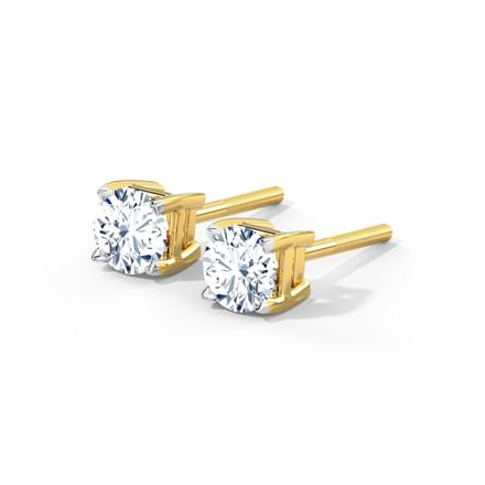 Capri Prime Solitaire Earrings