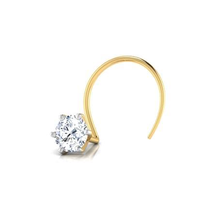 Petunia Diamond Nose Pin