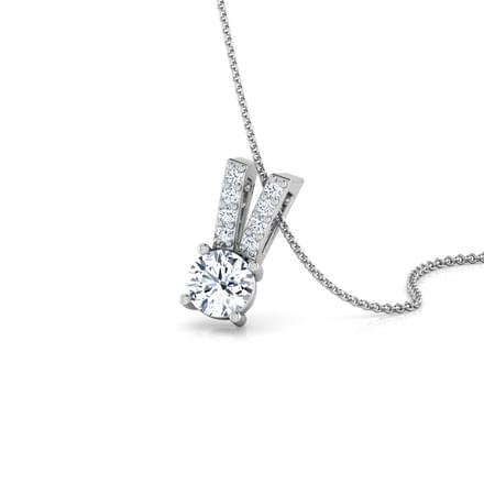 victory solitaire pendant jewellery india online caratlane com
