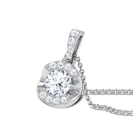 Forever Solitaire Pendant