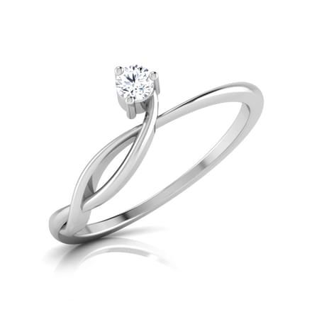 Forever Solitaire Diamond Ring