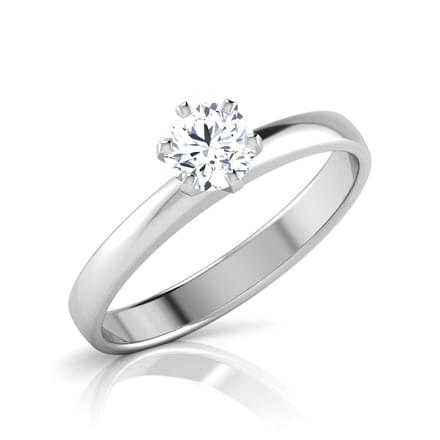 Solitary Solitaire Ring