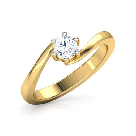 promise solitaire ring jewellery india online caratlane com