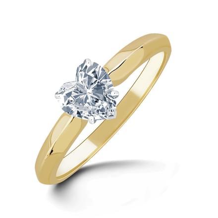 Serenity Heart Ring