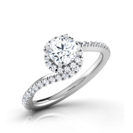 Spiral Solitaire Ring