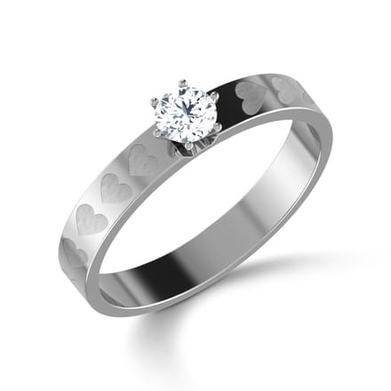 Amor Solitaire Ring