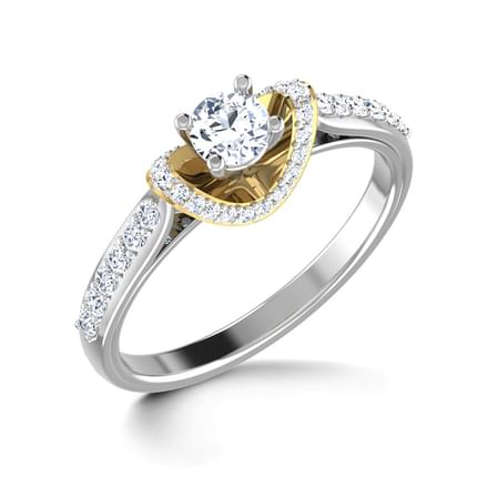 Flash Solitaire Ring