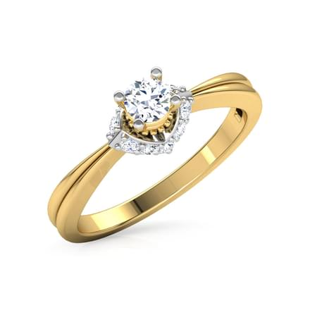 Pinnacle Solitaire Ring