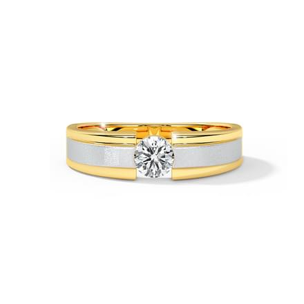 Glimmer Solitaire Ring