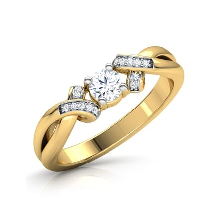 Glint Solitaire Ring
