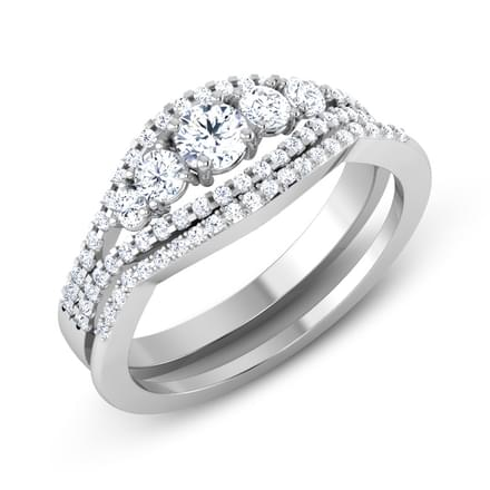 Radiance Solitaire Bridal Ring Set