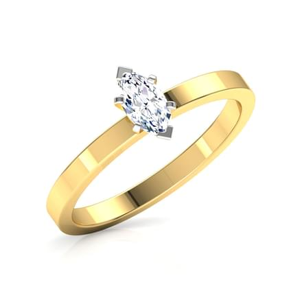 Glee Marquise Solitaire Ring