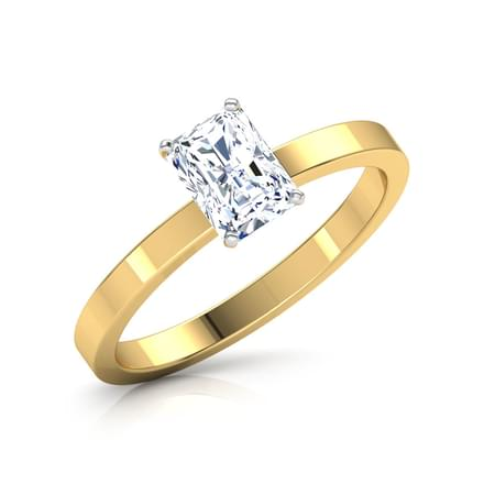 Glee Baguette Solitaire Ring