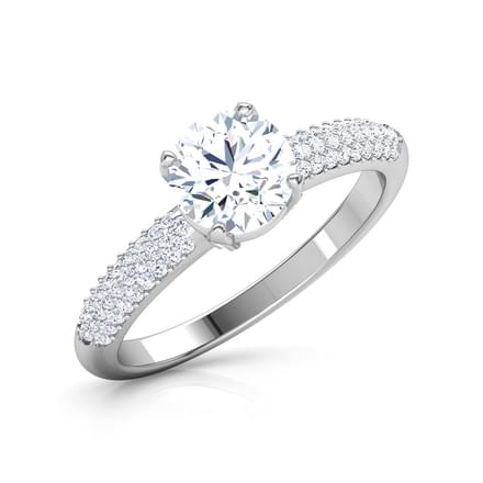 Charm Round Solitaire Ring