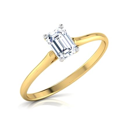 Zeal Solitaire Ring