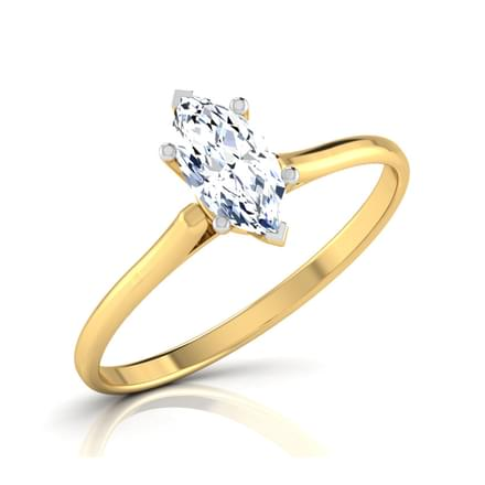 Zeal  Marquise Solitaire Ring