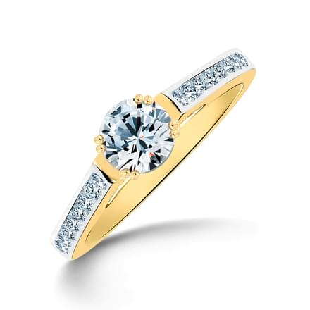 Glee Radiant Solitaire Ring