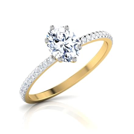 Zest Oval Solitaire Ring