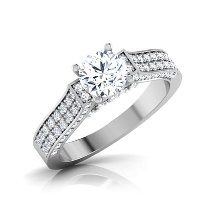 Glam  Solitaire Ring