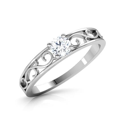 Unconditional Love Platinum Ring