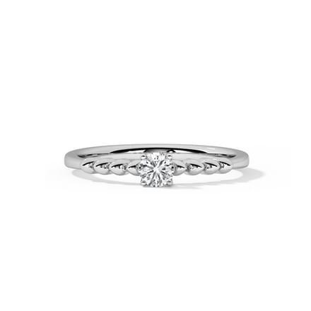 Fantasy Platinum Ring