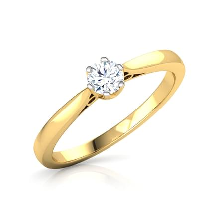 Daze Solitaire Ring