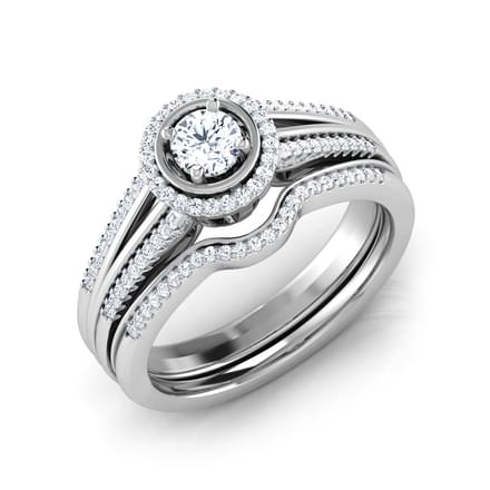 Oath Bridal Ring Set