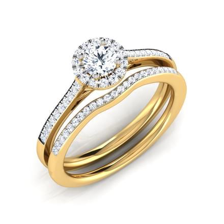 Zeal Bridal Ring Set
