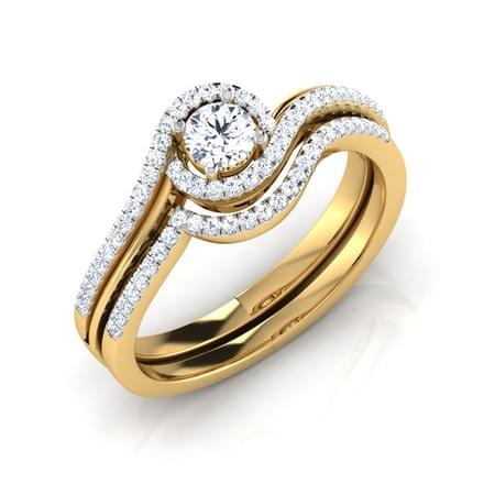 Asteria Bridal Ring Set