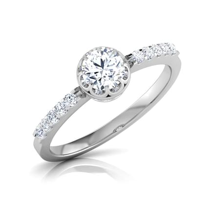 Bei Twinkle Solitaire Ring