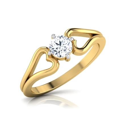 Nora  Hesitance Solitaire Ring