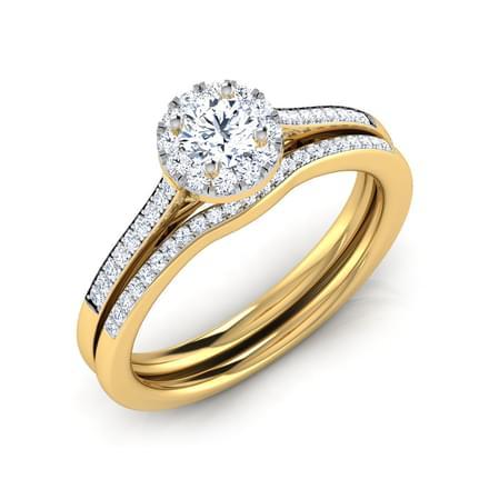 Lyra Vital Bridal Ring Set