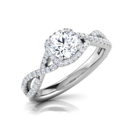 Alma Beaut Solitaire Ring