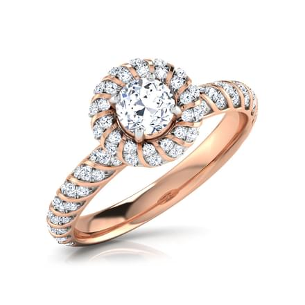Ena Ablaze Solitaire Ring