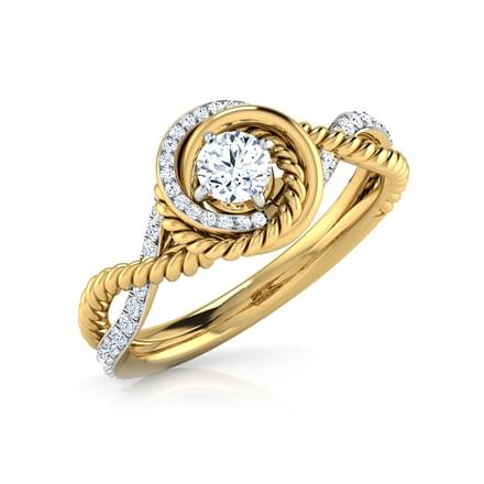Ava Sheek Solitaire Ring