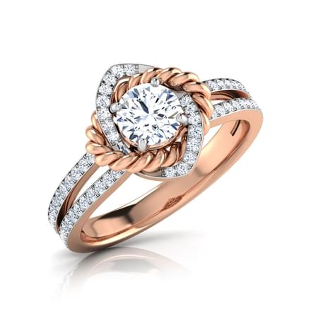 Iva Intertwisted Solitaire Ring