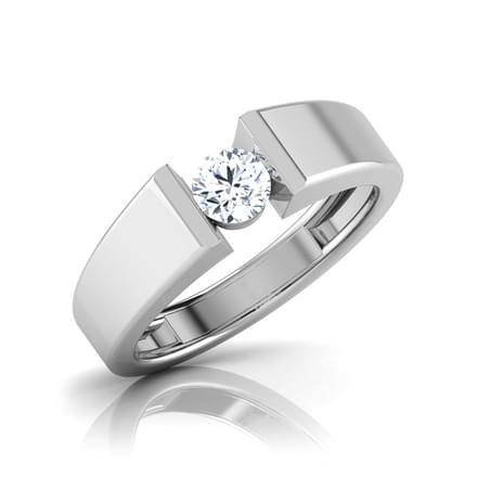Dan Solitaire Ring for Him
