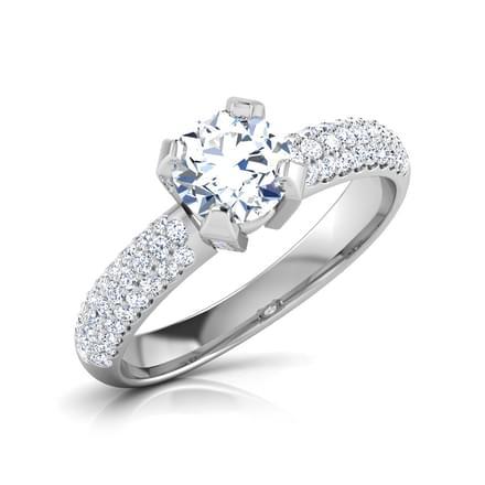 Lynn Elegant Solitaire Ring