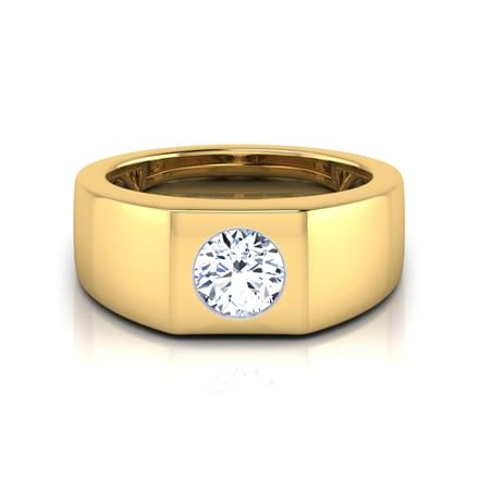 Owen Solitaire Ring for Men