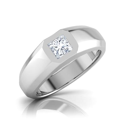 Nick Solitaire Ring for Him