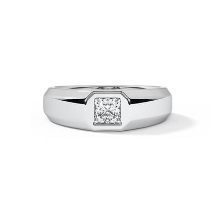 Nick Solitaire Ring for Men
