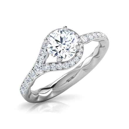 Loop Solitaire Ring