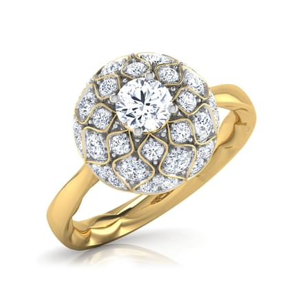 The Taj Amaze Solitaire Ring