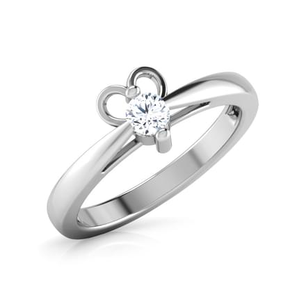 Love Struck Platinum Diamond Ring