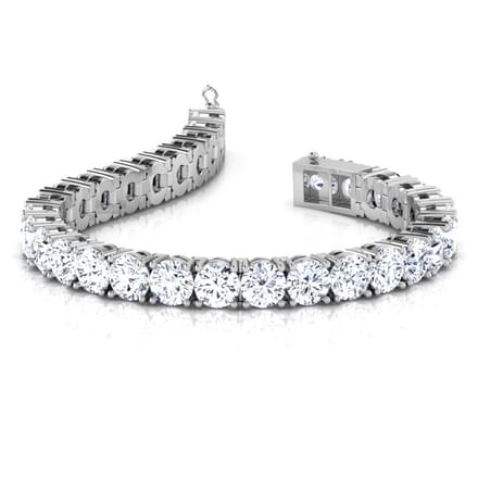 Infinity Tennis Bracelet Jewellery India line CaratLane